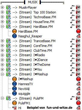 Musik Bots auf einem Teamspeak 3 Server