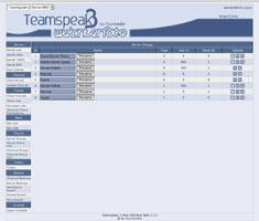 TS3 Server Webinterface - Gruppen