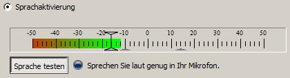 Voice Avtivation Level bei TS3